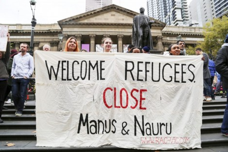 Close Manus, Close Nauru.