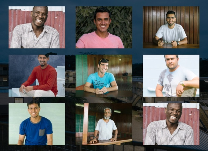 Meet the men on Manus