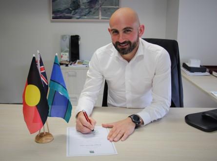 October RWZ signing_FINAL. Mayor Cr Athanasopoulos.JPG