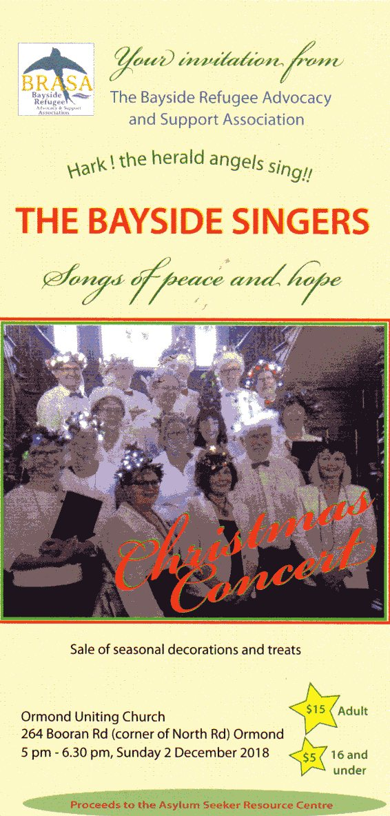 The Bayside Singers Songs of Peace and Hope 3Nov18_0001